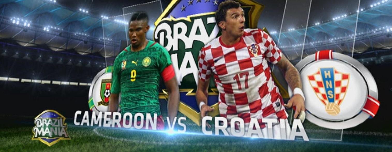 CDM-2014-Livetweet- Cameroun-Croatie: Gagner ou périr !