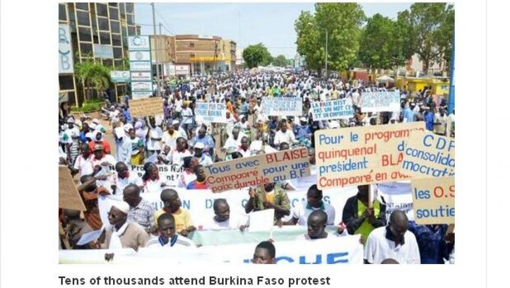 Le référendum sur la Constitution agite la Toile au Burkina Faso