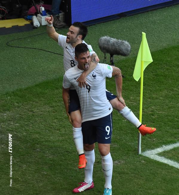 CDM-France 5-2 Suisse: les Bleus étrillent les Helvètes et atteignent le second tour