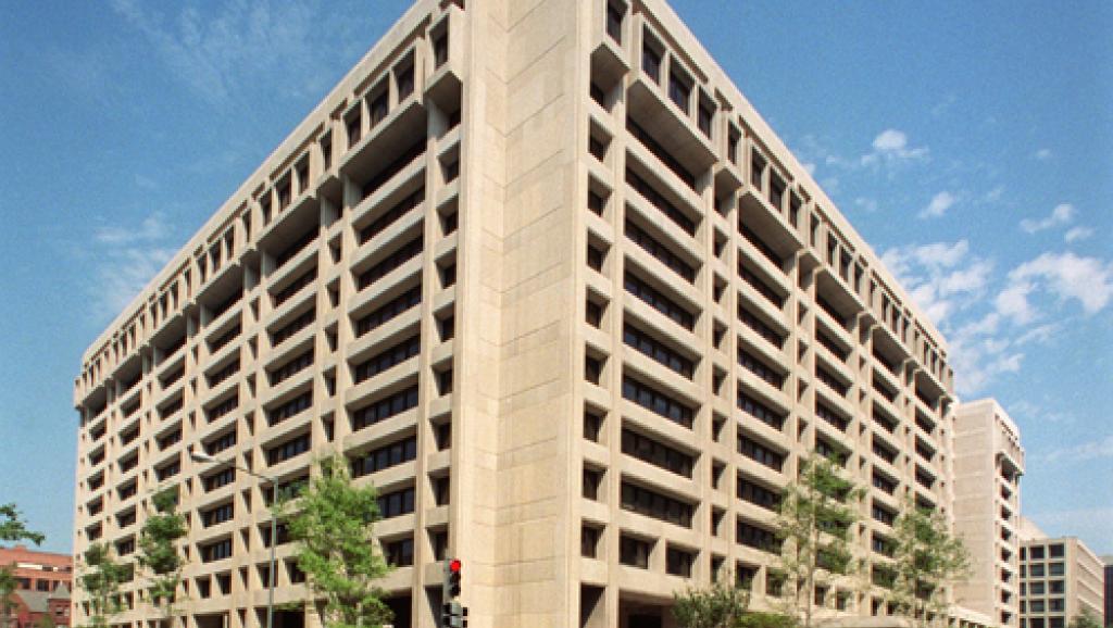 Le siège du FMI, à Washington. La ministre malienne de l'Economie et des Finances, Madame Bouaré Fily Sissoko, s'est rendue à Washington en début de semaine pour obtenir le dégel des versements des crédits par le FMI.