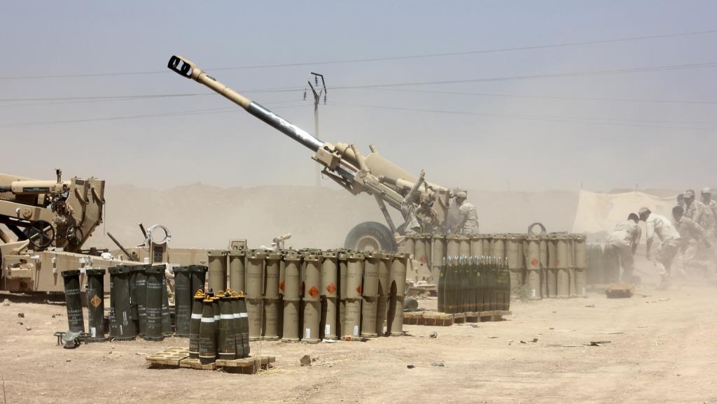 Les forces de sécurité irakiennes peinent à freiner l'avance des combattants de l'EIIL alliés aux insurgés sunnites irakiens.