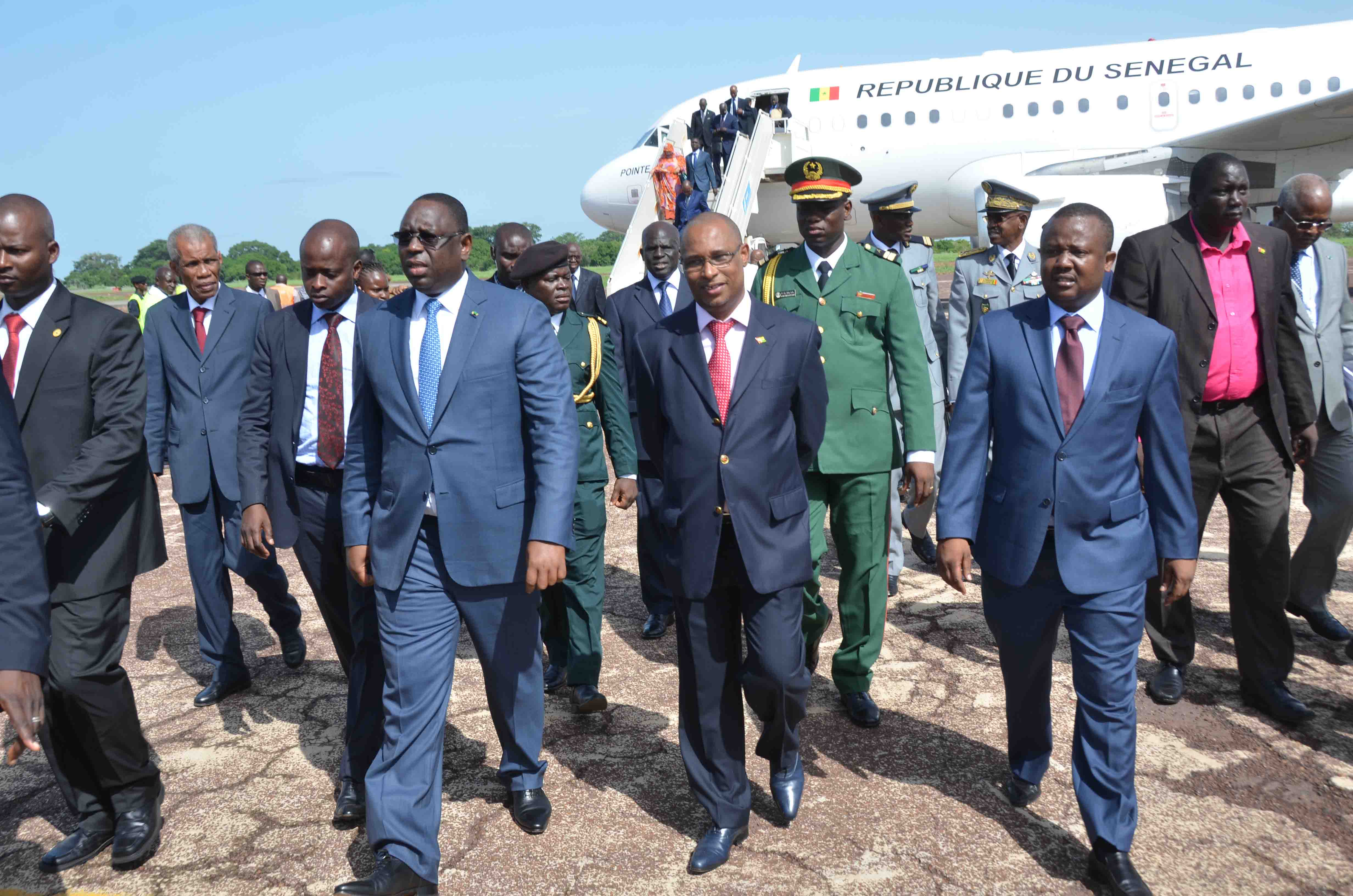 Guinée Bissau: le Président Sall à l'investiture de José Mario Vaz
