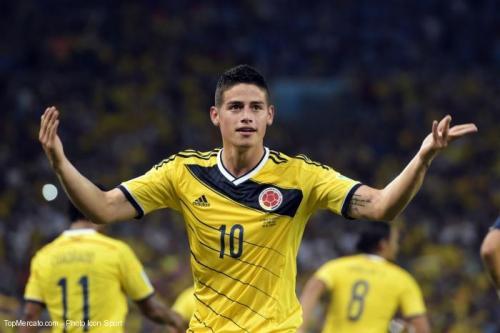 Transfert-Monaco : Le coup de foudre du Real pour James Rodriguez
