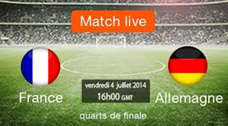 CDM 2014- Quarts de Finale- Programme du Jour : France- Allemagne à ne pas rater