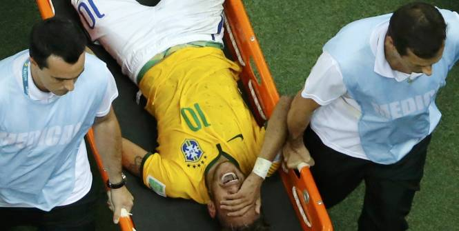 CDM 2014 : Neymar, Mondial terminé !