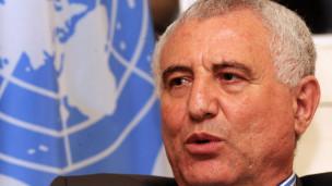 Said Djinnit, le chef du bureau des nations unies pour l'Afrique de l'Ouest