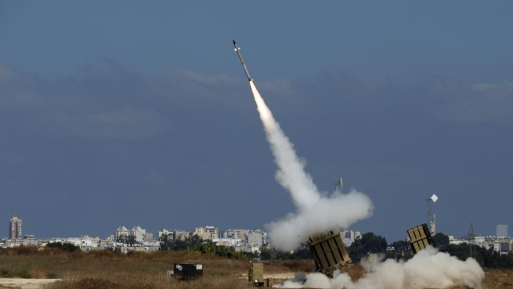 Un missile anti-missile du système de protection israélien «Dôme de fer» est tiré depuis Ashdod, le 9 juillet 2014.