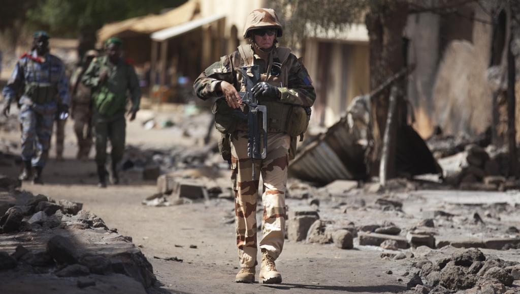 Soldat français à Gao, le 2 mars 2013. REUTERS/Joe Penney