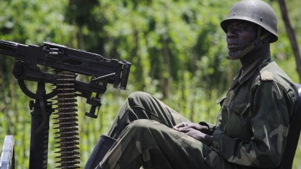 En mars 2013, les Maï-Maï Kata Katanga avaient été stoppés dans leur avancée sur Lubumbashi par les FARDC. AFP PHOTO/PHIL MOORE