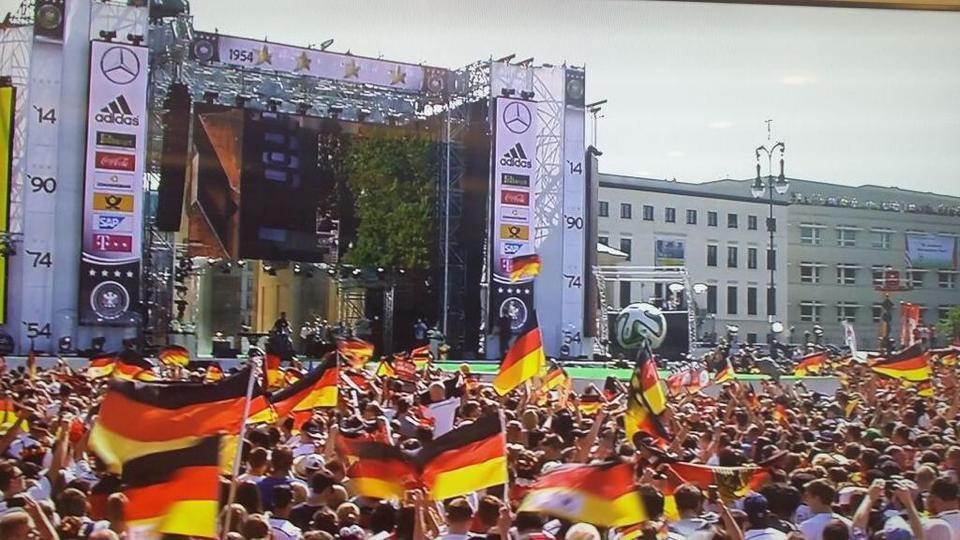 Images L'Allemagne accueille ses champions du monde