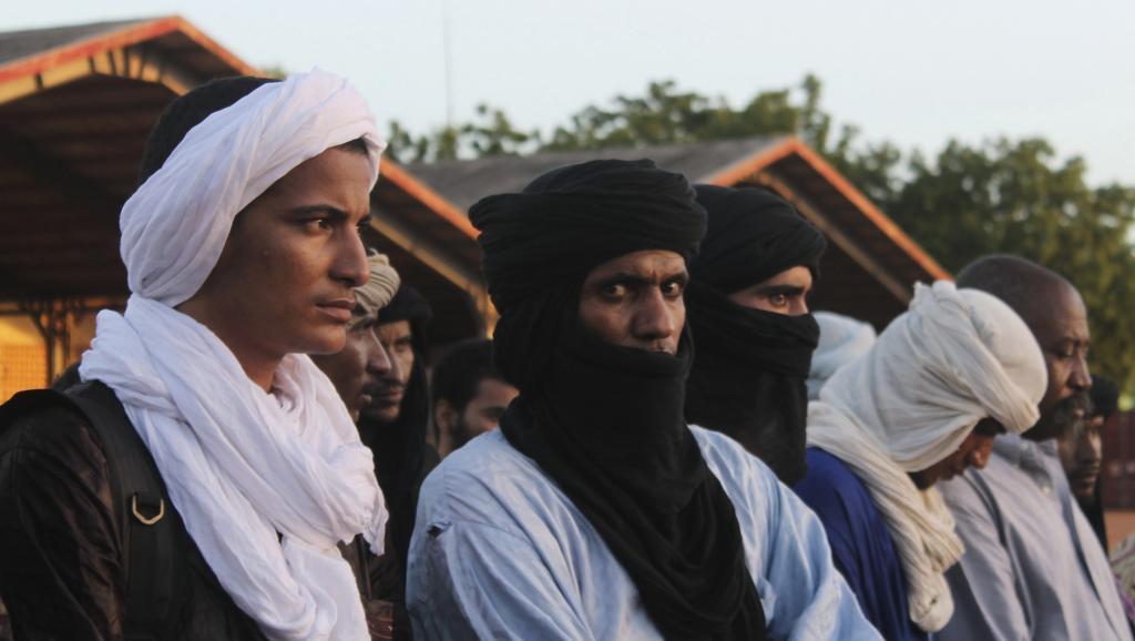 Mardi 15 juillet, une quarantaine de prisonniers touaregs étaien relâchés par le gouvernement en échange de quarante soldats. REUTERS/Adama Diarra