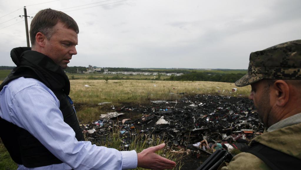 Crash du vol MH17 en Ukraine: le point sur les évènements de la journée