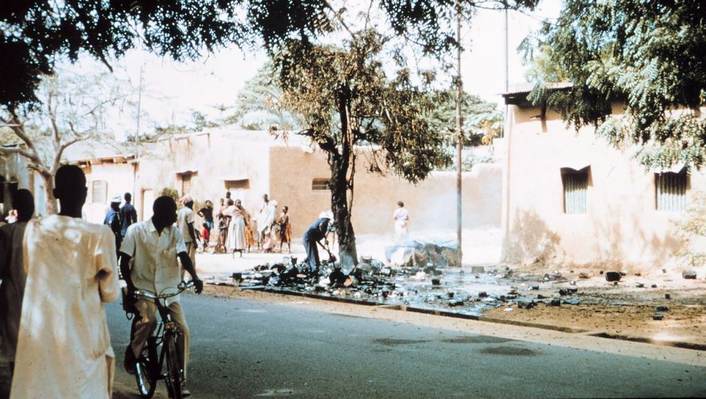 Rue de Ndjamena au Tchad, l'une des villes les plus chères pour les expatriés. Wikimedia