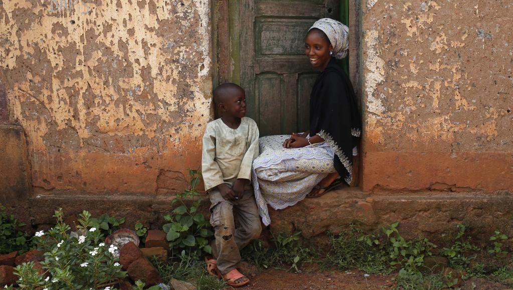 A Bambari, en République centrafricaine, le vendredi 13 juin. REUTERS/Goran Tomasevic