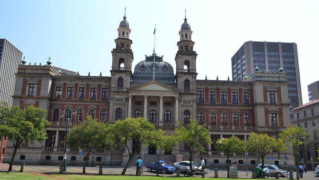 Le palais de justice de Pretoria, en Afrique du Sud. Wikimedia / PHParsons