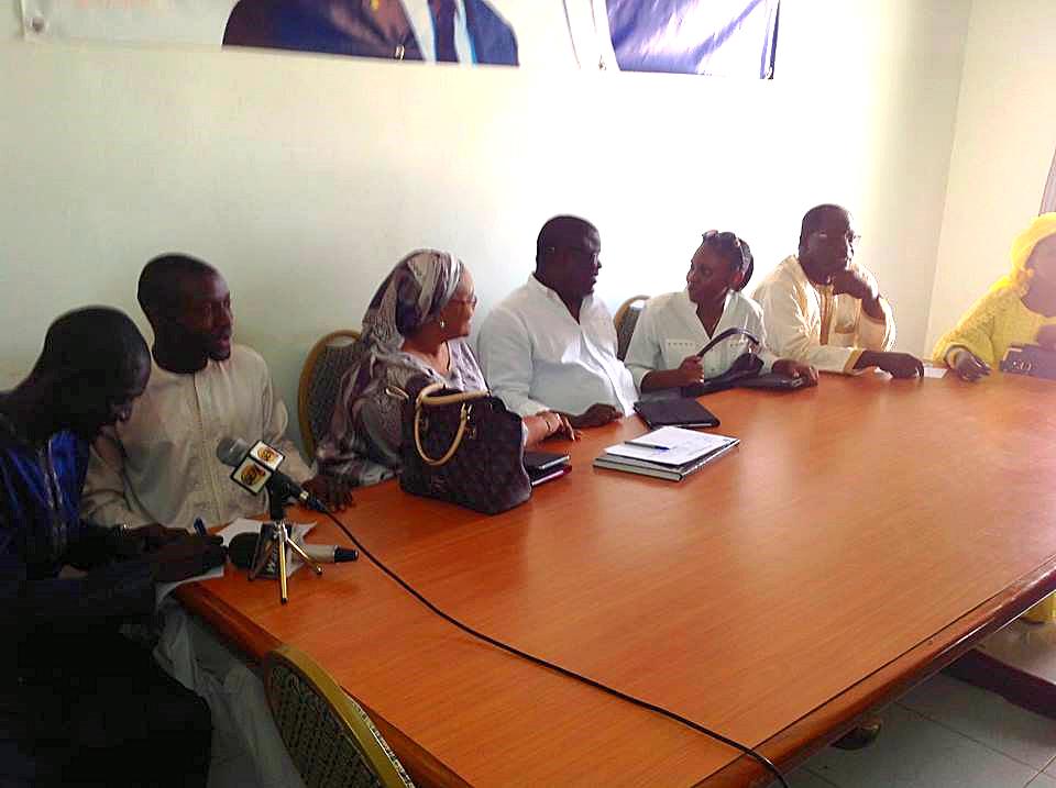 CREI-l'UCS d'Abdoulaye Baldé et « Macky Libère Karim » affûtent leurs armes : Vers la création d'un bloc