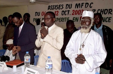 Dernière minute - Nécrologie : Décès de Bertrand Diamacoune du MFDC