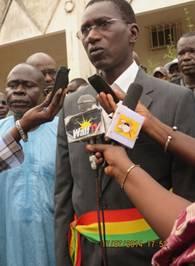 Magatte Wade investit maire de la commune de Mekhé