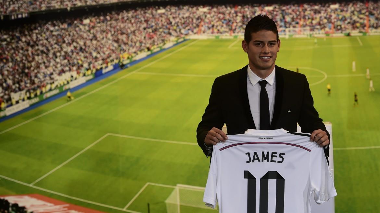 Acheté 80 Millions, James a déjà généré 30 Millions d'euros en ventes de maillots
