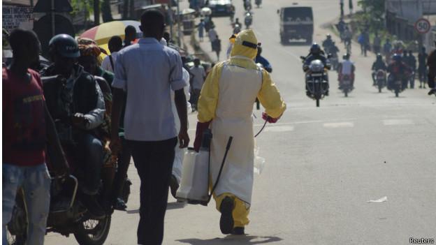 En Sierra Leone, les cas d'Ebola se sont majoritairement déclarés dans les districts de Kailahun et de Kenema, à l'est du pays