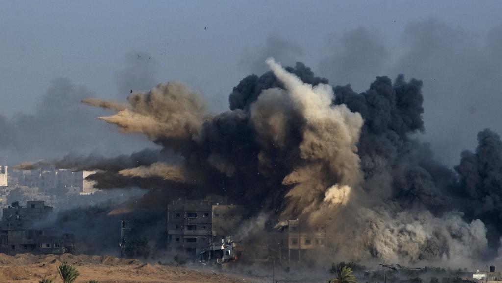 Le message de Barack Obama est on ne peut plus clair : une trêve humanitaire immédiate et sans condition à Gaza. DR