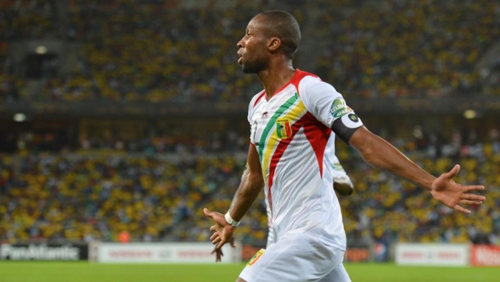 Seydou Keita lors de la Coupe d'Afrique des Nations en 2013 en Afrique du Sud. AFP PHOTO / BEN STANSALL