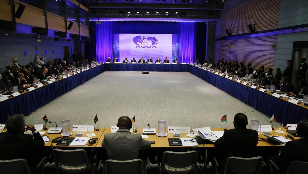 Représentants de différents pays africains à la session d'ouverture du forum de l'AGOA, ce 4 août 2014, à Washington, dans le cadre du sommet Etats-Unis/Afrique. REUTERS/Gary Camero