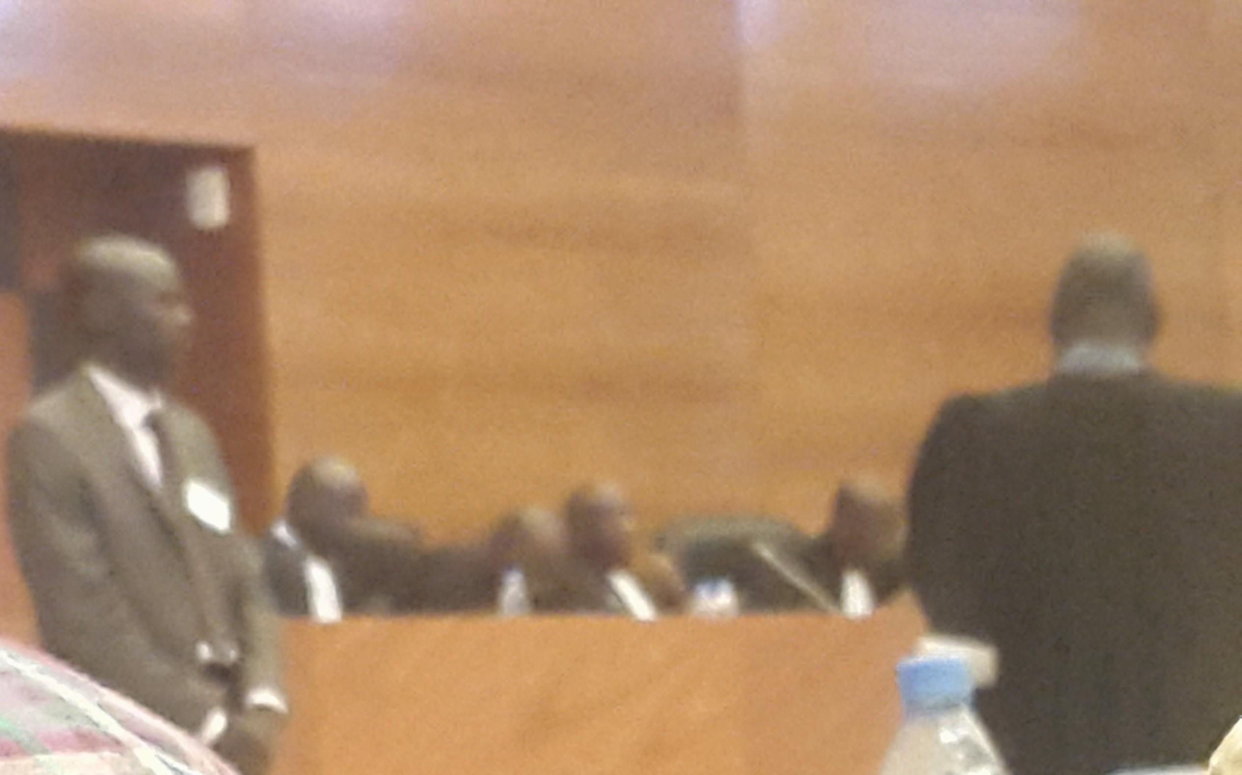 Le tribunal de la Cour de Répression de l'Enrichissement Illicite (CREI) présidée par Henri Grégoire Diop
