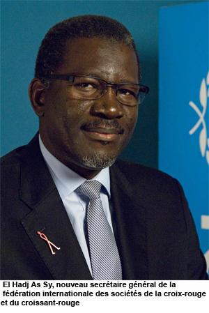 De l'UNICEF, El Hadji As SY nommé secrétaire général de la Croix-Rouge et du Croissant Rouge : il se dit privilégié