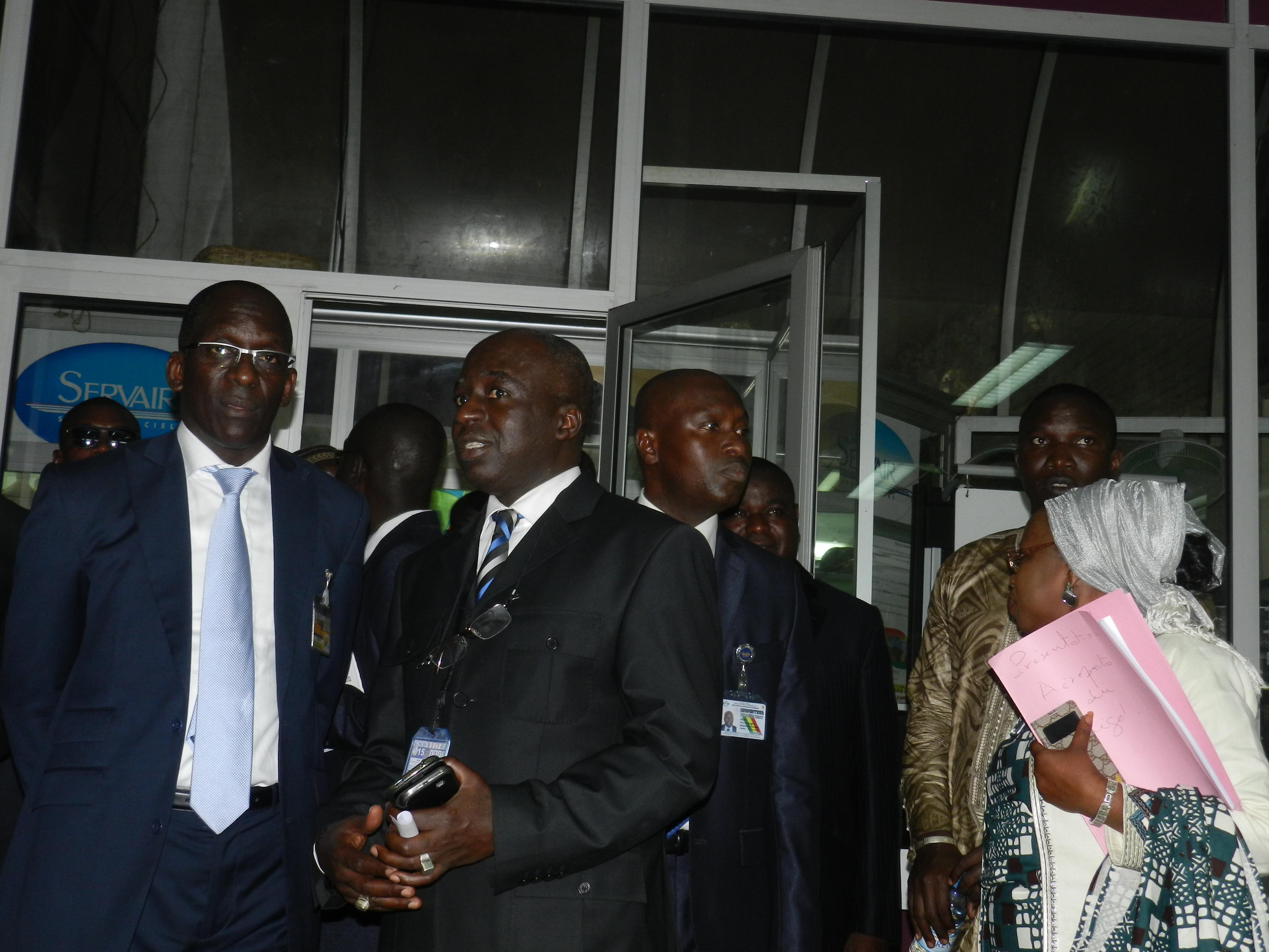 Visite de prise de contact : La bonne gestion des ADS exposée devant le ministre du Tourisme et des Transports Aériens