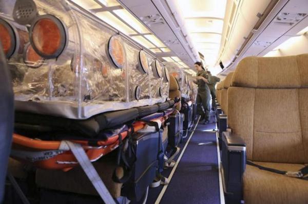 Ebola : le premier malade européen est arrivé en Espagne