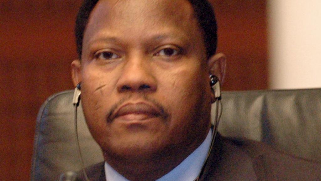 Le président de l'Assemblée nationale du Niger Hama Amadou, ici, en 2007, lors de l'ancien sommet annuel des Etats du Sahel et du Sahara, est soupçonné d'avoir acheté un bébé au Nigeria. AFP PHOTO/MAHMUD TURKIA