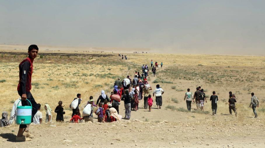 L'Irak accuse l'Etat islamique d'avoir assassiné au moins 500 Yézidis, dont certains enterrés vivants Ils auraient été ensevelis dans des fosses communes par les combattants jihadistes.