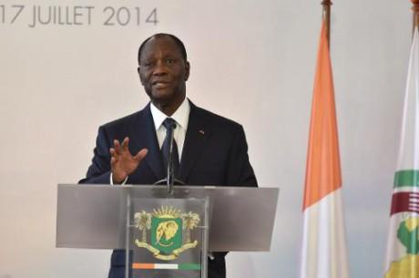 """Côte d'Ivoire: la présidentielle de 2015 """"sera démocratique"""" , assure Ouattara"""