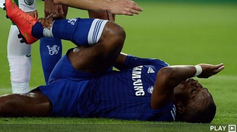 Chelsea : 4 à 6 mois d'absence pour Drogba ?