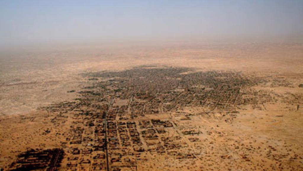 Vue aérienne de la ville de Tombouctou au Mali. (Photo : Alida Jay Boye. Timbuktu Manuscripts Project. Université d'Oslo)