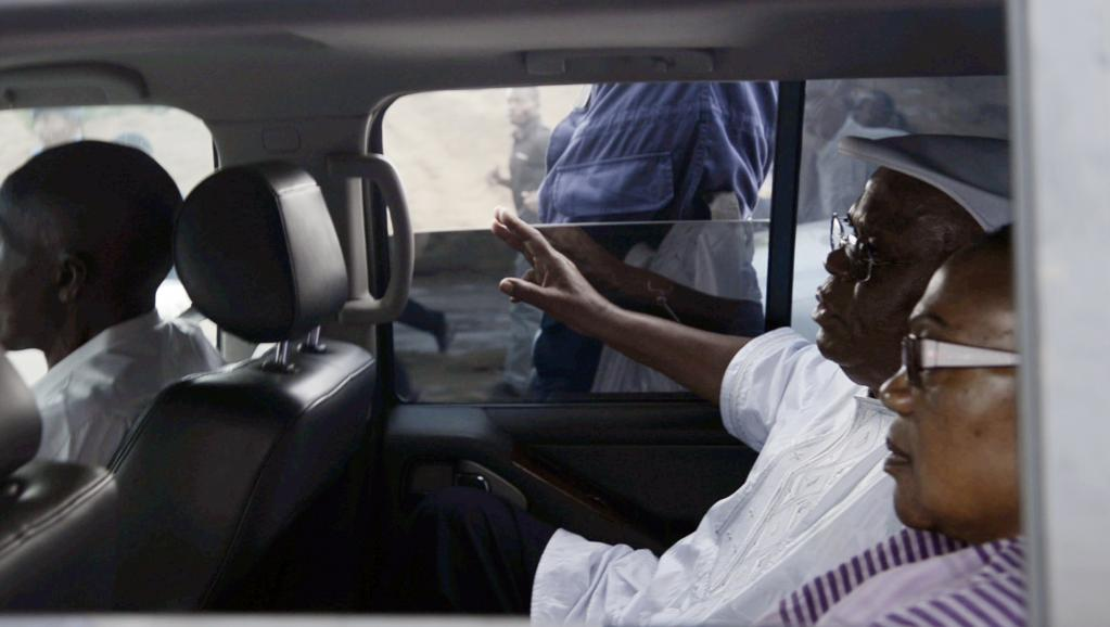 Etienne Tshisekedi et son épouse, Marthe Kasalu Jibikila, le 10 mars dernier à Kinshasa. AFP PHOTO / JUNIOR D. KANNAH