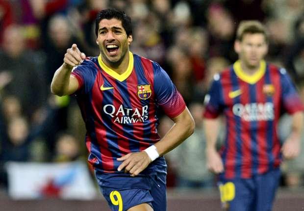 Barca : Luiz Suarez est entré en jeu