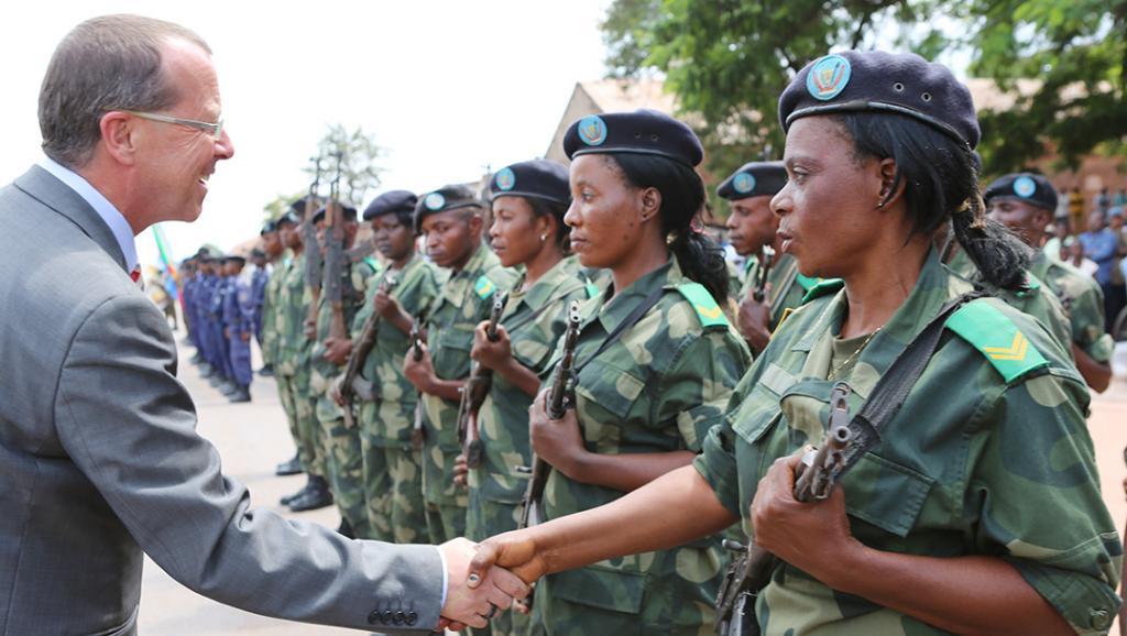 Le chef de la Monusco et représentant spécial du secrétaire général de l'ONU en RDC, Martin Kobler (ici au Katanga en janvier 2014) a demandé aux FDLR de rentrer au Rwanda et de vivre «paisiblement».