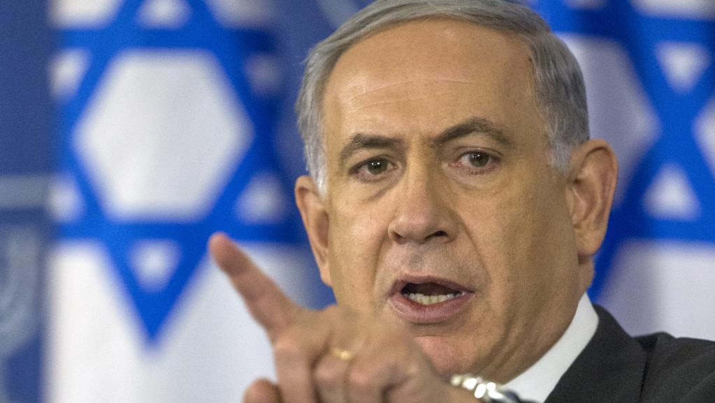 Le Premier ministre israélien Benyamin Netanyhu, lors d'une conférence de presse le 20 août 2014 à Tel-Aviv. AFP PHOTO / JACK GUEZ