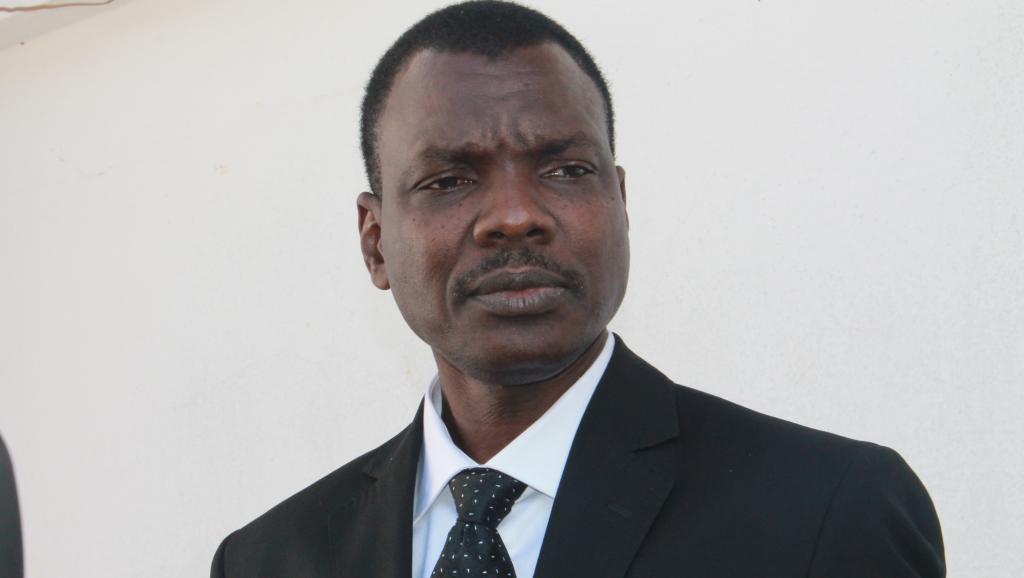 Confirmé à son poste par la présidente, le Premier ministre centrafricain Mahamat Kamoun a formé son gouvernement. AFP/Pacome Pabandji