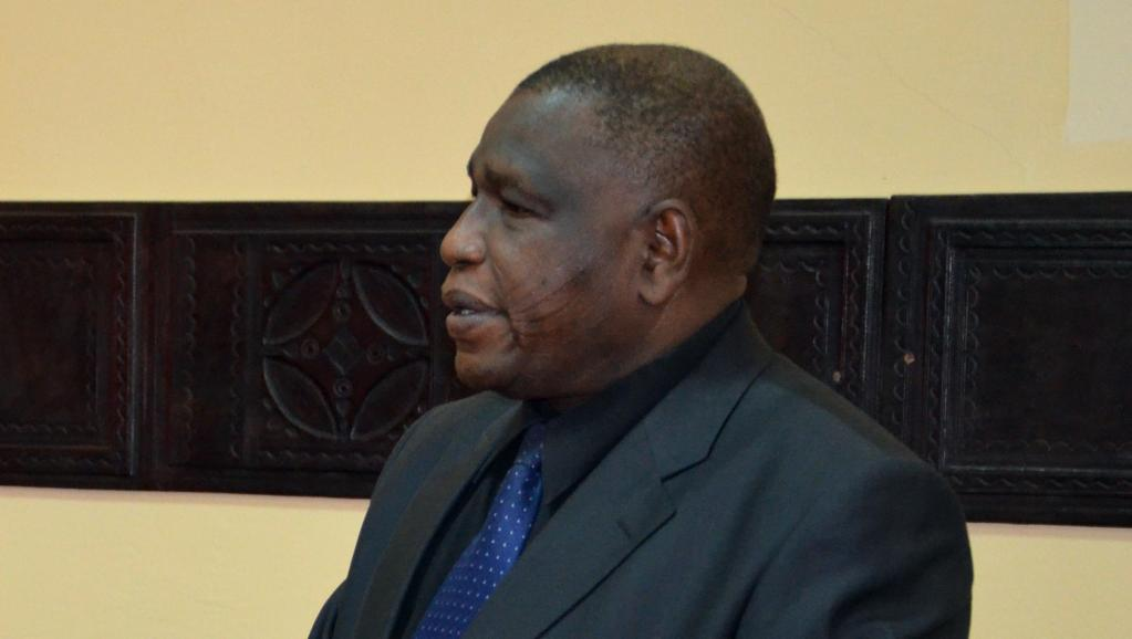 Le ministre de l'Agriculture Abdou Labo, ici à Niamey le 10 février 2012, a été placé sous mandat de dépôt dans le cadre de l'affaire dite du «trafic de bébés», le 23 août 2014