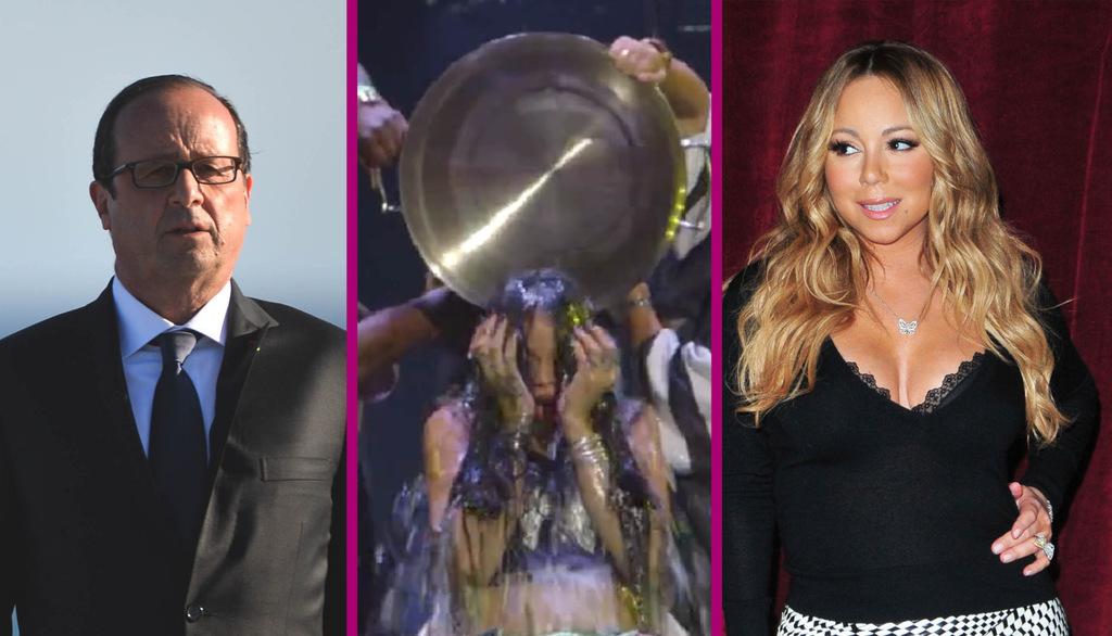 Le 20H people : François Holland critiqué, Mariah Carey déçue et Rihanna Mouillée