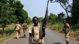 Des combattants Séléka