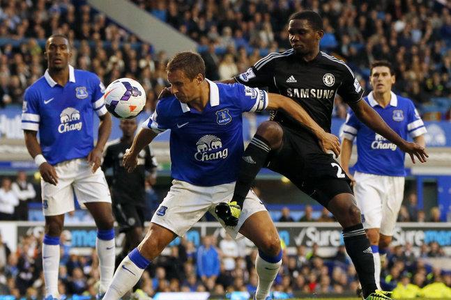 Everton : Eto'o choisit le N°5