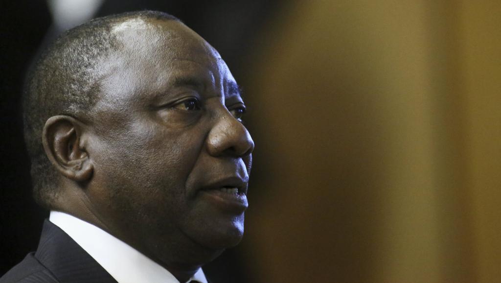 Le vice-président sud-africain, Cyril Ramaphosa, le 11 août 2014. REUTERS/Siphiwe Sibeko