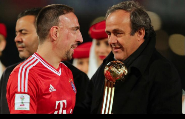 Platini prévient Ribéry et Nasri
