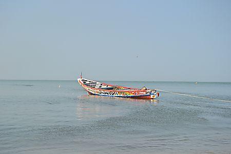Pluies d'hier : le vent fort emporte un pêcheur dans le fleuve Casamance