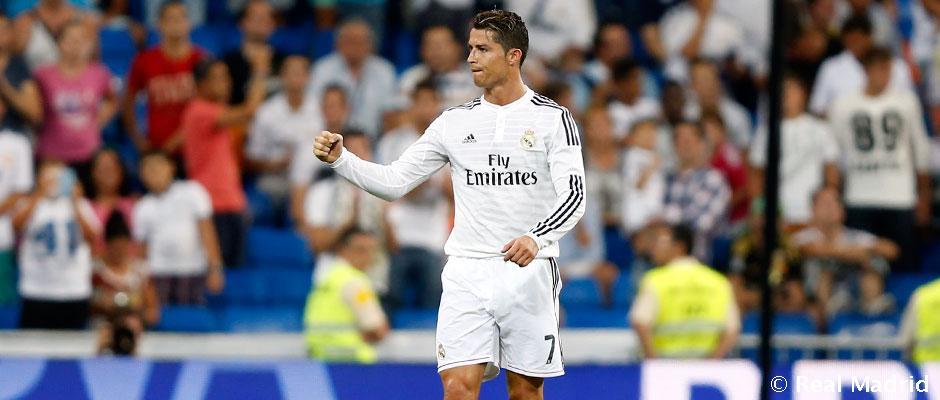 FOOTBALL:Cristiano Ronaldo a déjà inscrit 30 buts en 2014