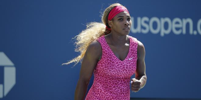 US Open - Serena Williams brillante, Ivanovic décevante